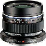 M.Zuiko Digital ED 12mm 1:2.0 Black