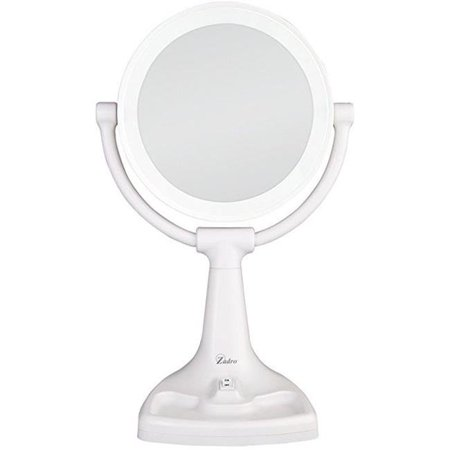 Zadro Max110 Max Bright Sunlight Dual Sided Vanity Mirror