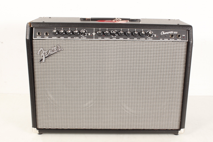 Fender Champion 100 Guitar Combo Amp Level 4 Black 190839143204 by Fender