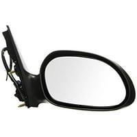 Depo 330-5404R3EBH Black Passenger Side Power Heated Mirror