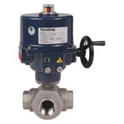 DYNAQUIP CONTROLS Electronic Ball Valve,SS,1-1/2 In. EYSA7AJE01