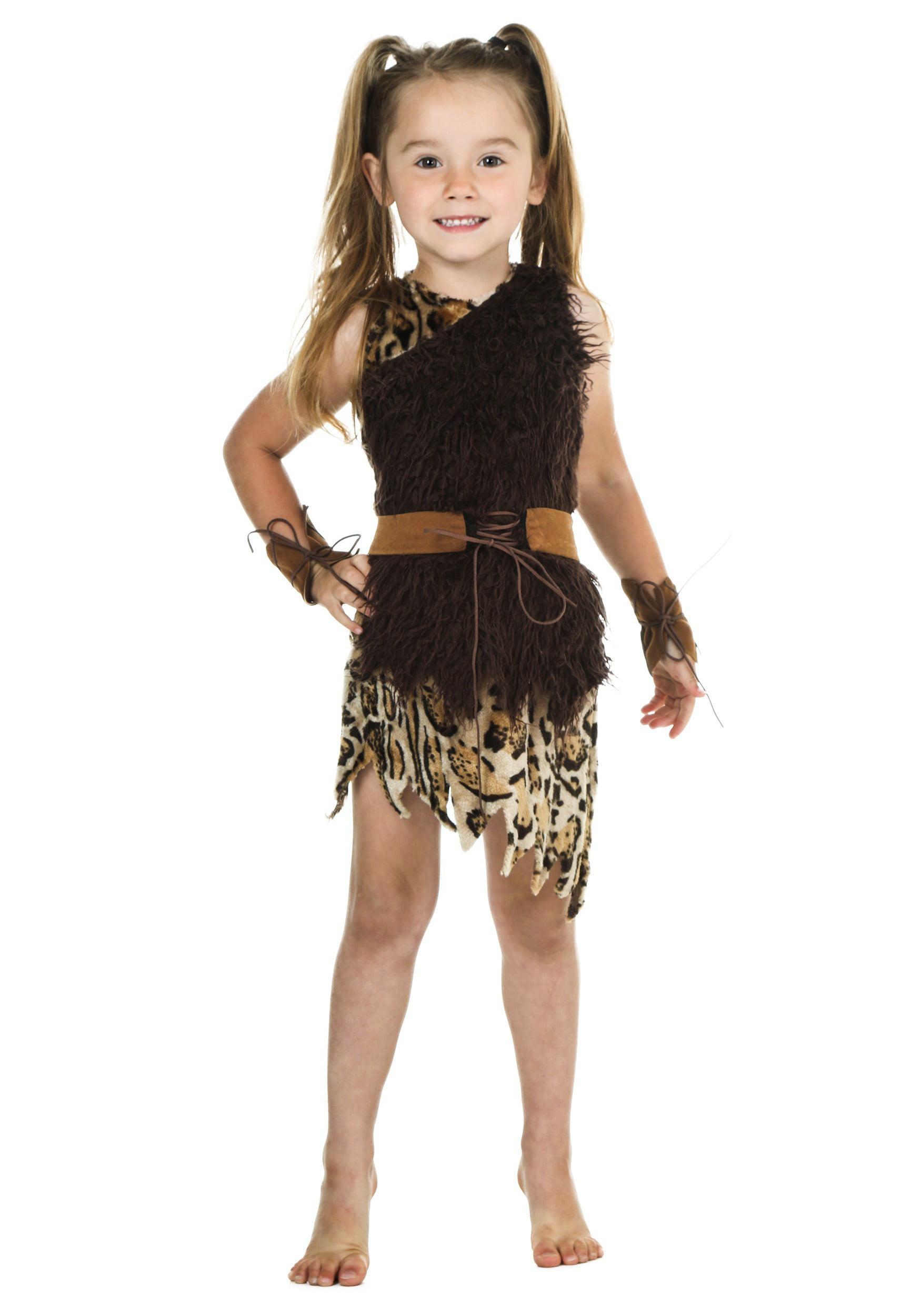 sc 1 st  Walmart & Toddler Cavegirl Costume - Walmart.com