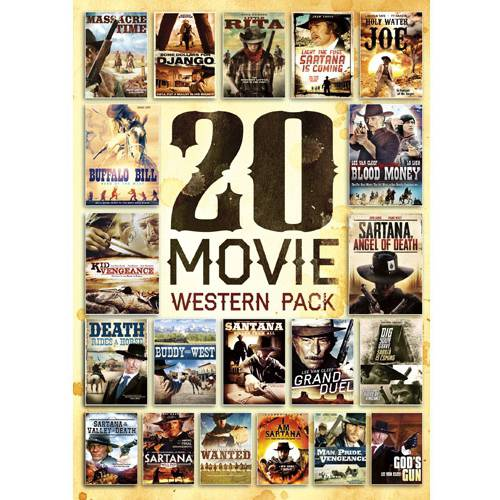 20-Movie Western Pack