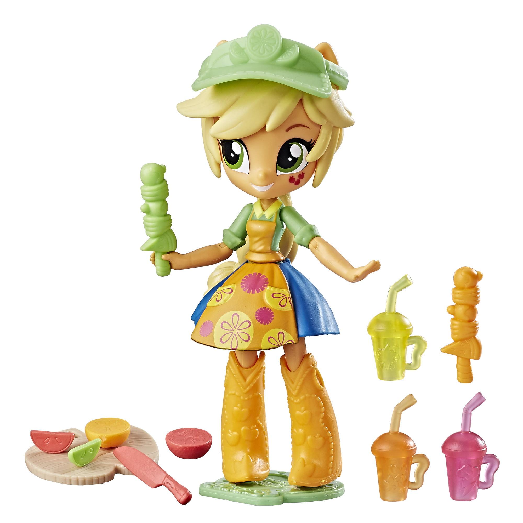 My Little Pony Equestria Girls Applejack Fruit Smoothies Shop Set by Hasbro
