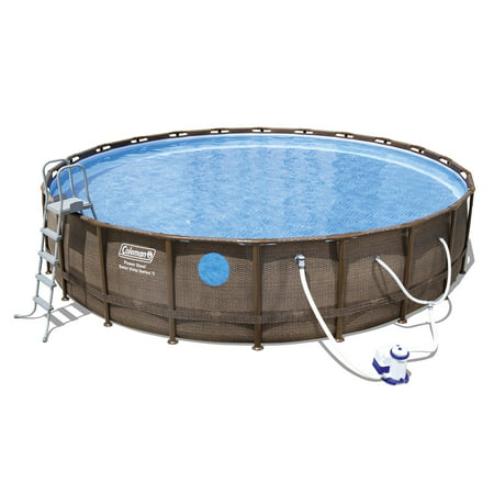 "Coleman 22'x52"" Swim Vista II Pool Set with Pump, Ladder and Cover"