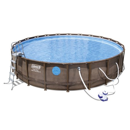Coleman Power Steel 18 X 48 Quot Frame Swimming Pool Set