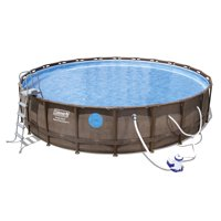 """Coleman 22'x52"""" Swim Vista II Pool Set with Pump, Ladder and Cover"""