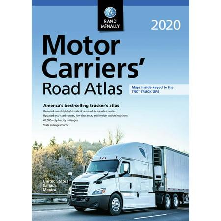 Rand McNally 2020 Motor Carriers' Road Atlas (Rand Mcnally Deluxe Motor Carriers Road Atlas 2018)