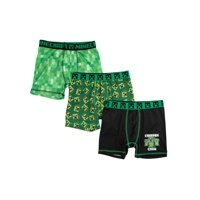 Minecraft Character Boxer Briefs, 3 Pack