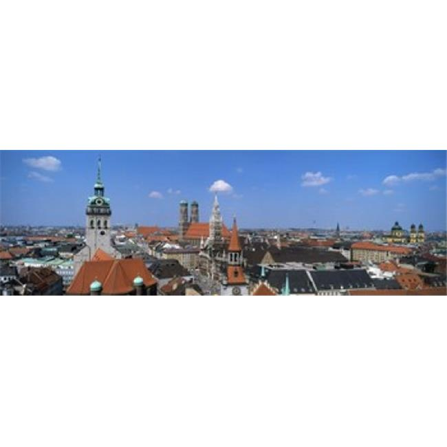 Cityscape  Munich  Germany Poster Print by  - 36 x 12 - image 1 of 1