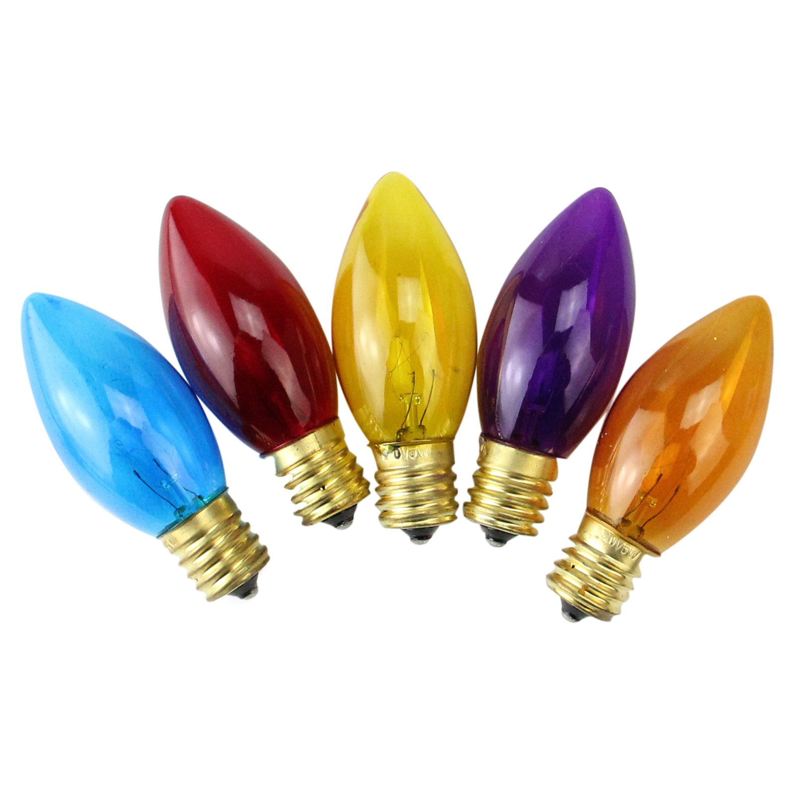 Northlight 25 ct. Incandescent C9 Christmas Replacement Bulbs