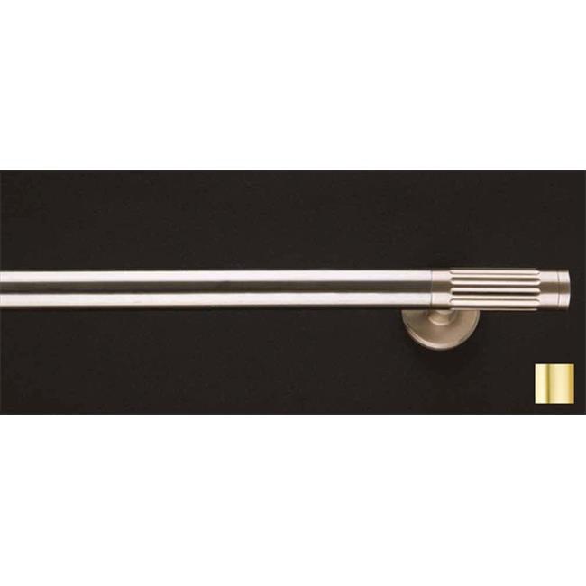 Vesta 1144 Curtain Rod Set -.75 in. - Matte Brass - 63 in. - image 1 of 1