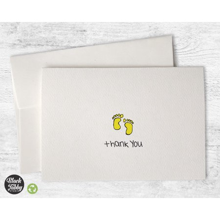 Adorable Baby Feet - Thank You Cards (Baby Thank You Cards)