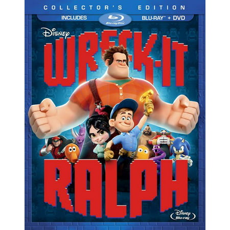 Wreck It Ralph  Blu Ray   Dvd