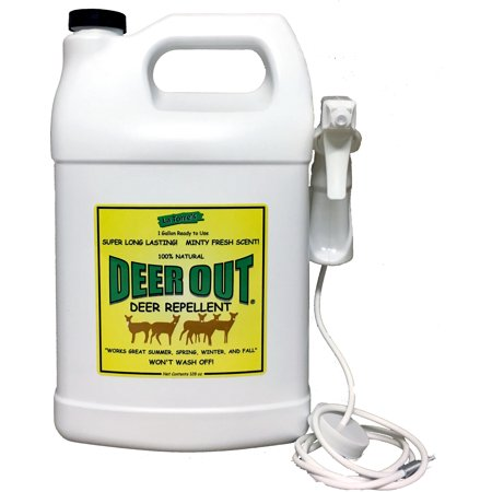 - Deer Out 1 Gallon Ready to Use Deer Repellent