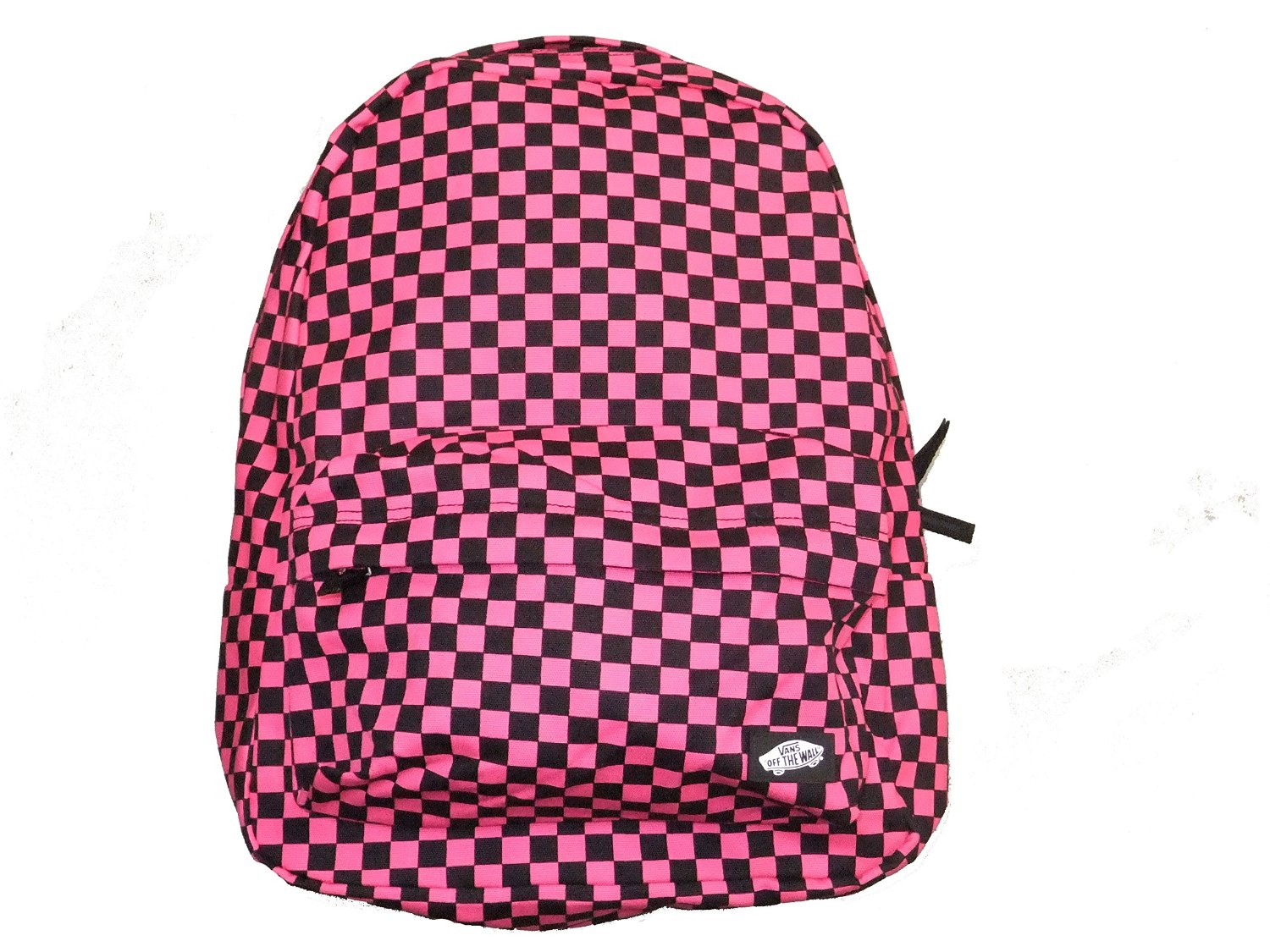 Wall Checkered Backpack-Pink