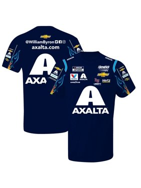 William Byron Hendrick Motorsports Team Collection Sublimated Pit Crew T-Shirt - Navy