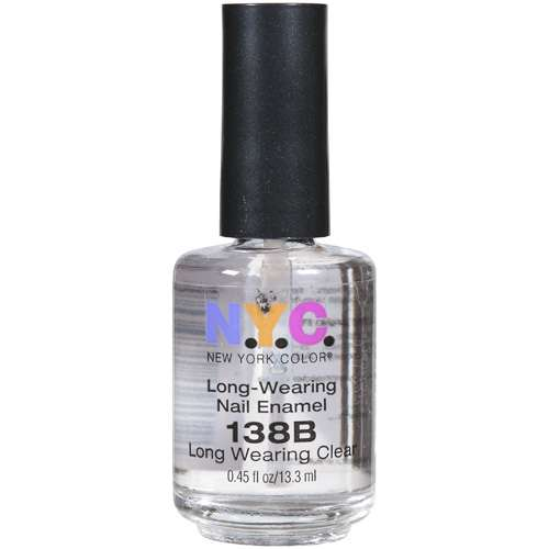 New York Color Lngwear Nail Colclear.50