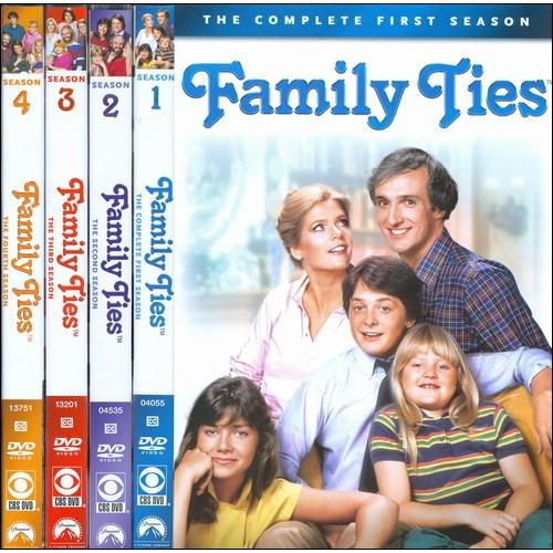 Family Ties: The Four Season Pack - Seasons 1-4 (Full Frame)