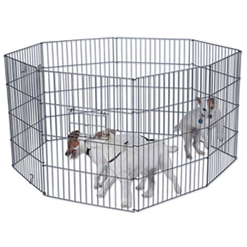 "Doskocil 8-Panel Exercise Pen with Door, 36"" x 24"""