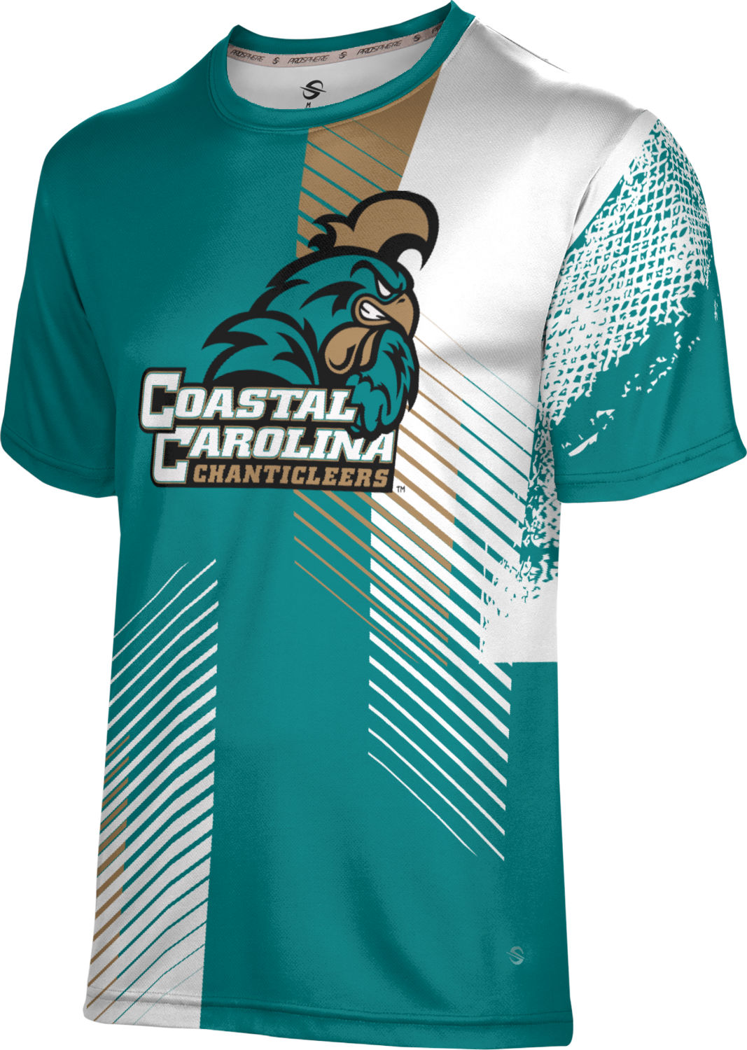 ProSphere Boys' Coastal Carolina University Hustle Tech Tee