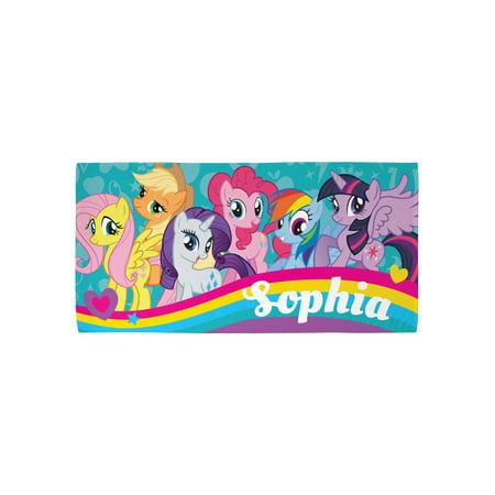 personalized my little pony kids beach towel walmart com