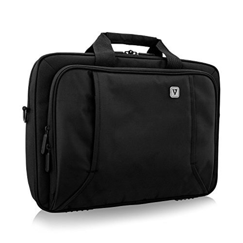 V7 CTP16-BLK-9N Professional Topload Laptop Carrying Case Black