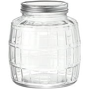 Anchor Hocking 1 Gallon Barrel Gl Jar
