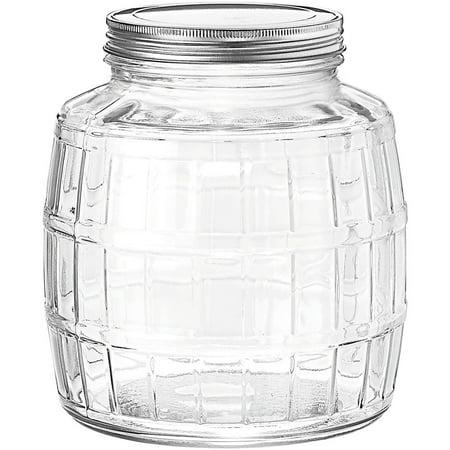Anchor Hocking 1 Gallon Barrel Glass Jar Walmartcom