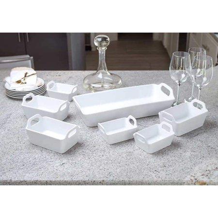 Baum 7-piece White Serving Set (Macys Baum)