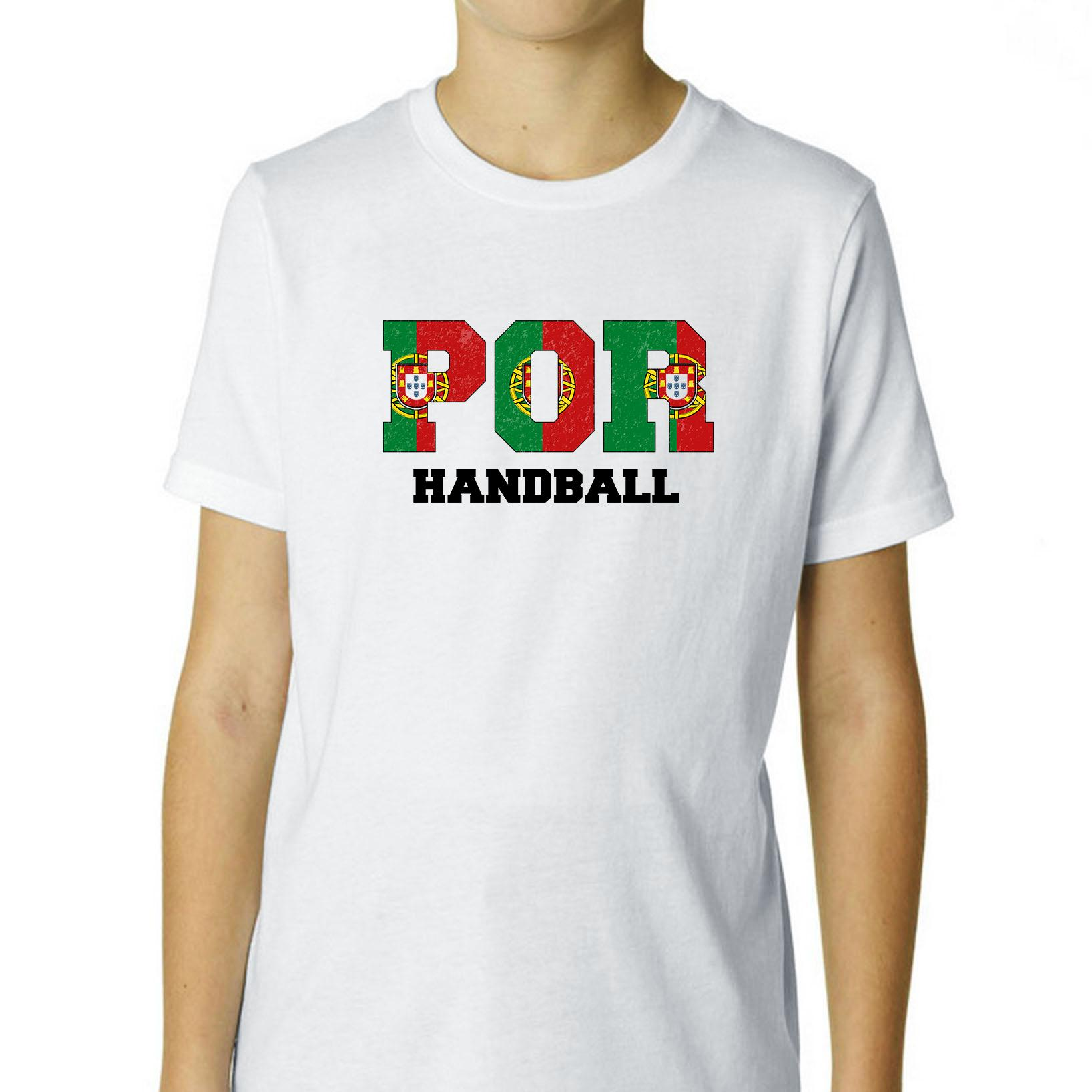 Portugal Handball - Olympic Games - Rio - Flag Boy's Cotton Youth T-Shirt