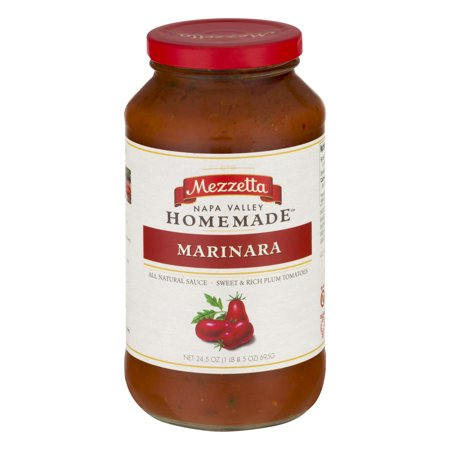 Mezzetta Napa Valley Homemade Sauce Marinara, 24.5 (Best Store Bought Marinara Sauce)