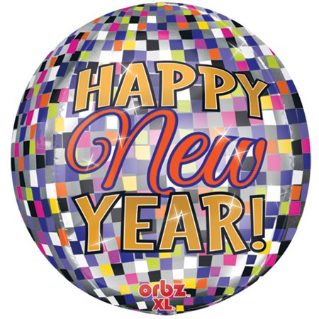 Balloon Drop Nets (Anagram Happy New Year Disco Ball Drop Orbz 15