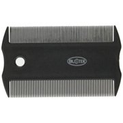 """Kruuse Buster Flea Comb Dog Grooming Comb, 6"""", Multicolor"""