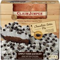 Claim Jumper Chocolate Satin Pie Frozen Dessert, 25.6 Ounce
