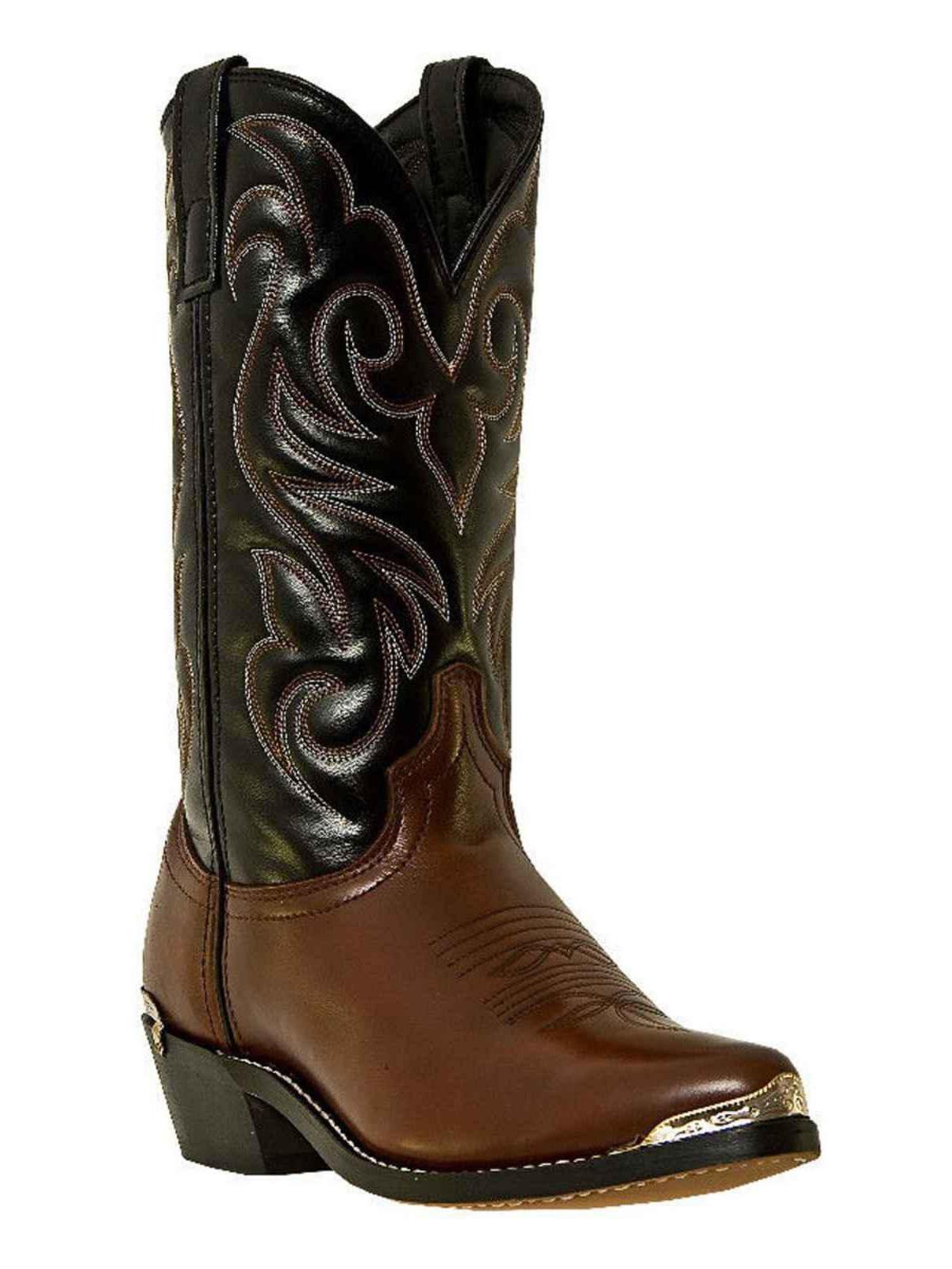 Laredo 28-2464 Men's Peanut and Black Nashville Western Boots by Laredo