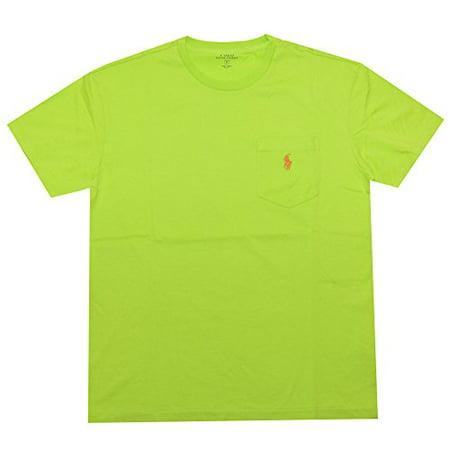 Polo Ralph Lauren Mens Classic-Fit Pocket T-Shirt (Small, Marathon Green)
