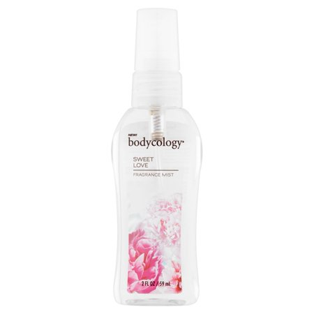 (4 Pack) Bodycology Sweet Love Fragrance Mist, 2 fl oz