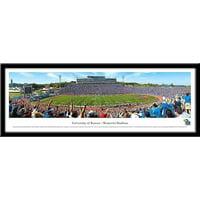 Kansas Jayhawks Framed Stadium Print