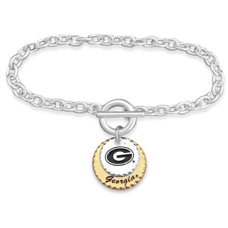 Georgia Bulldogs Bracelets - Georgia Bulldogs Women's Haute Stamp Bracelet - No Size