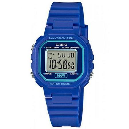 Casio Women's Classic Digital Quartz Resin Blue Watch LA-20WH-2A ()