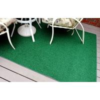 Garland Artificial Grass Green Indoor & Outdoor Area Rug 8' x 12'