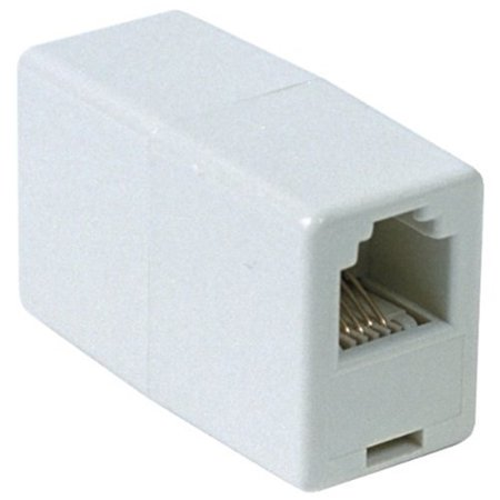 - RCA 6 Conductor In Line Phone Cord Coupler