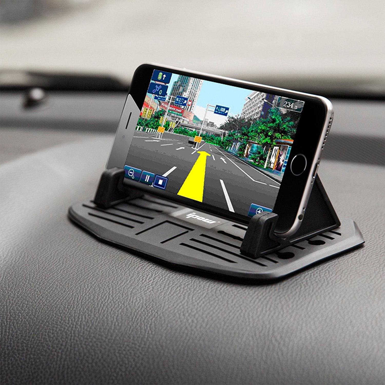 IPOW Anti-slip Silicone Car Dash Mat Pad Cell Phone Dashboard Holder
