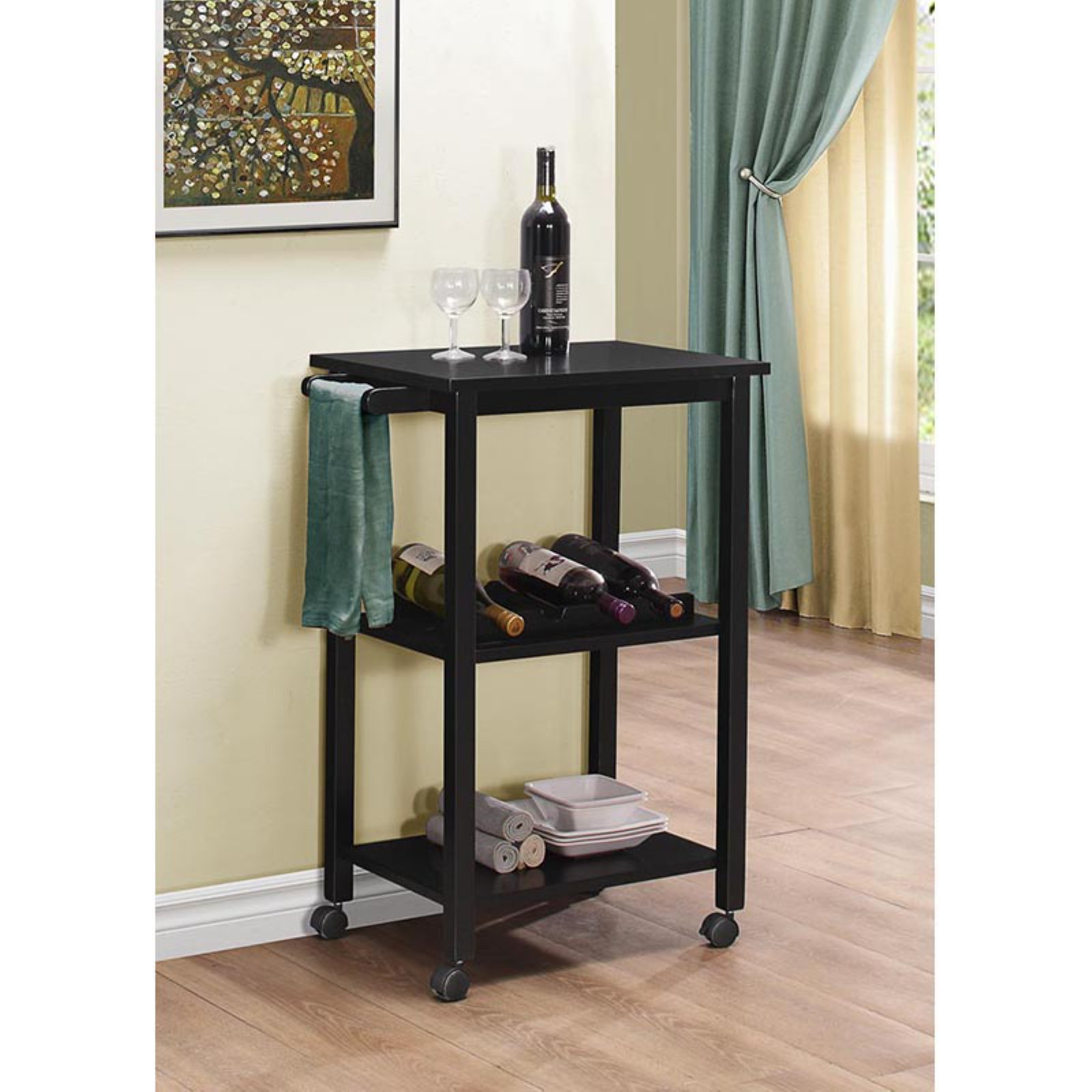 K & B Furniture K53 Kitchen Serving Cart