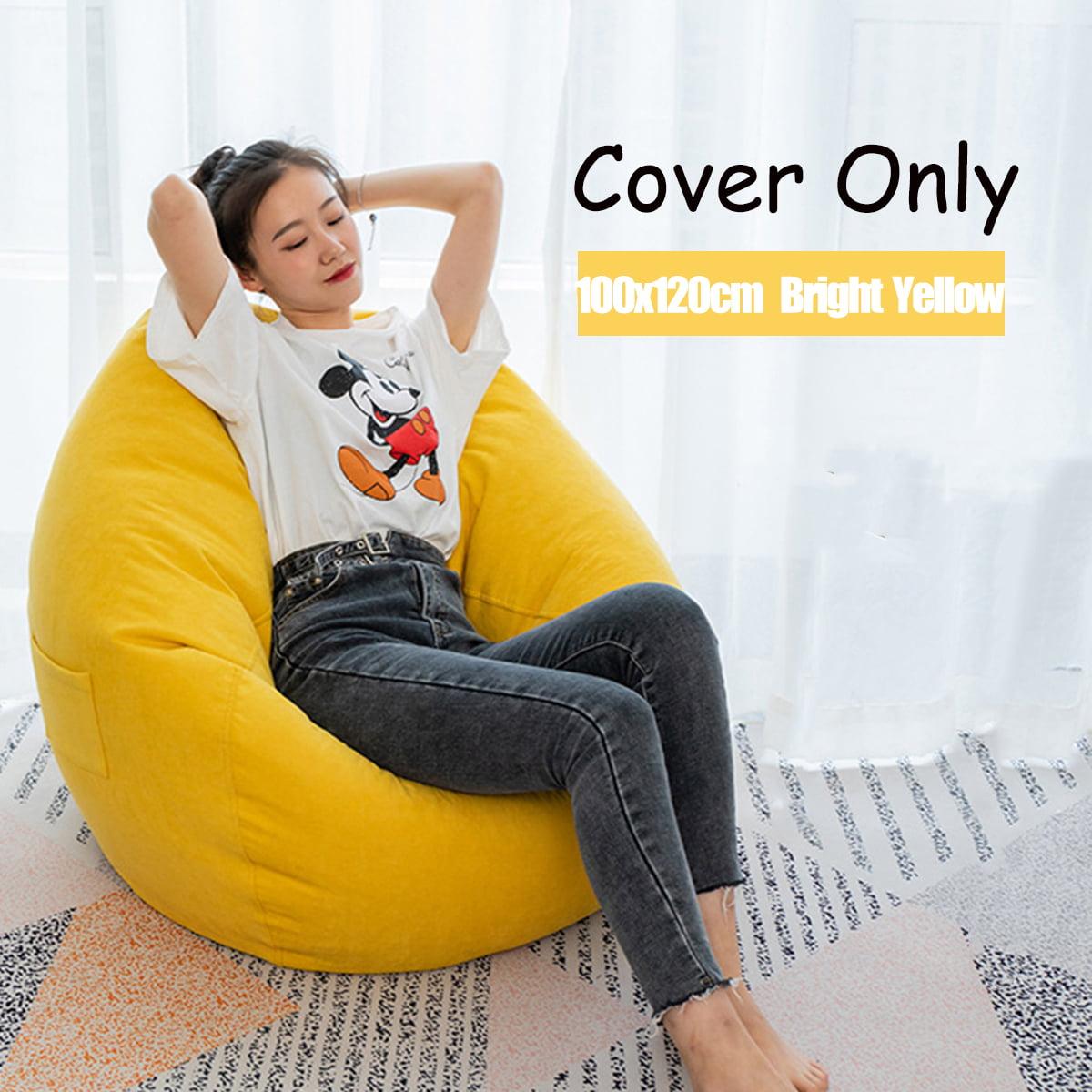 "Nesloth 39.37"" x 47.24"" Bean Bag Chair Sofa Cover Indoor ..."