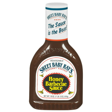 ((3 Pack) Sweet Baby Ray's Honey Barbecue Sauce, 18 oz)