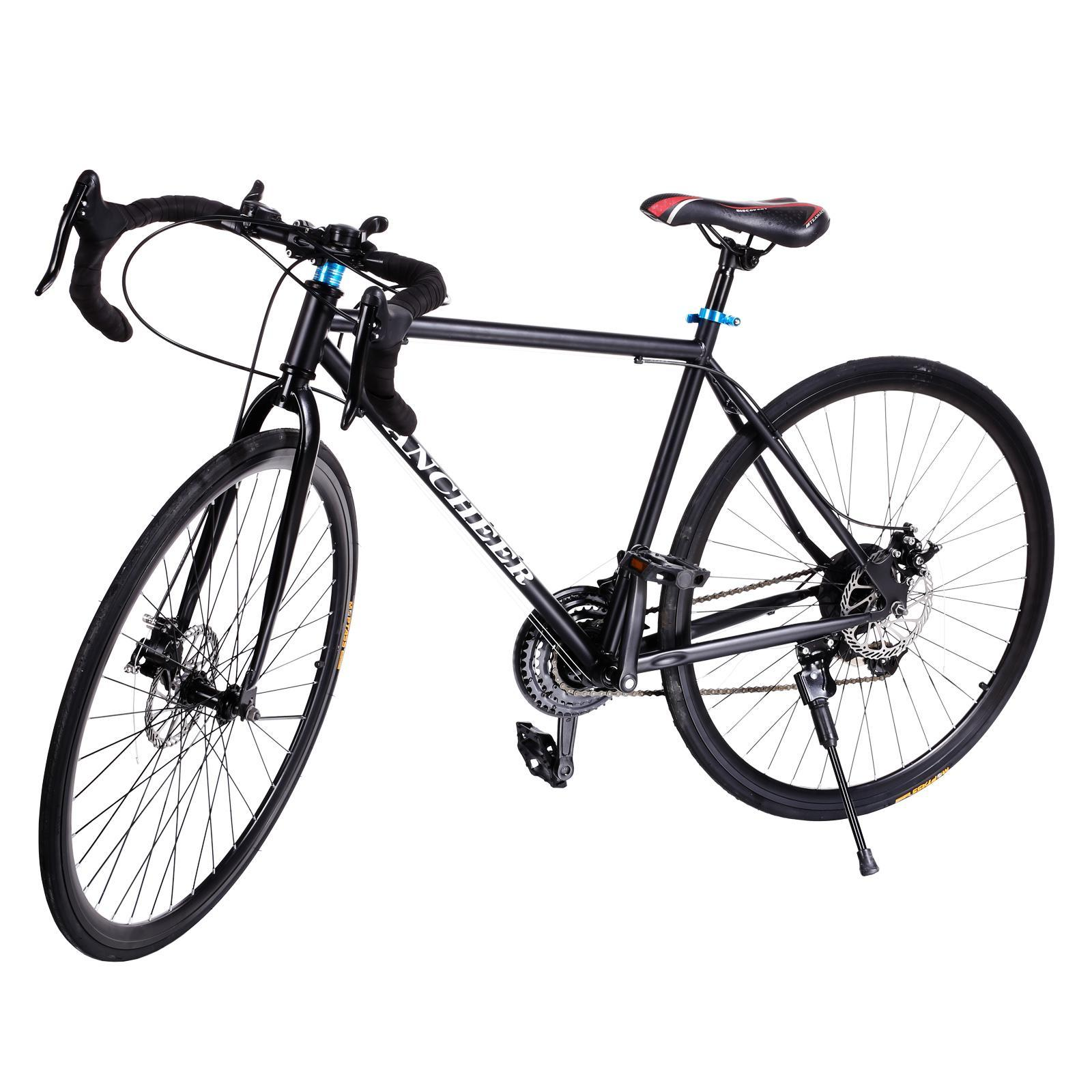 Margot Adult Teen Boys Racing Bikes, Fashion 700C Aluminum 21 Speed Road/Commuter Bike Racing Bicycle ,440lbs Capacity