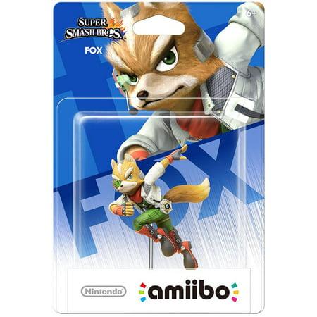 Fox Super Smash Bros Series Amiibo (Nintendo Wii U or
