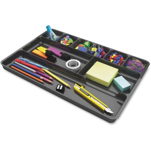 Deflect-o Plastic Desk Drawer Organizer